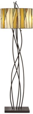 Pacific Coast Lighting Oak Vine Floor Lamp