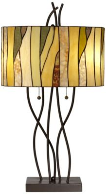 Pacific Coast Lighting Oak Vine Table Lamp