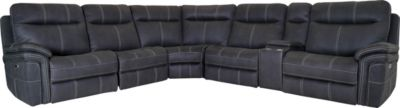 Parker House Mason 6-Piece Power Motion Sectional