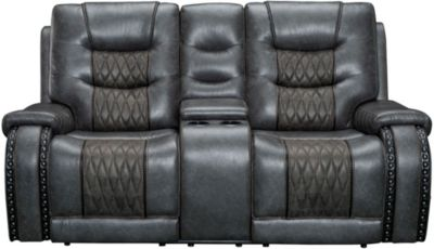 Parker House Outlaw Power Loveseat with Console