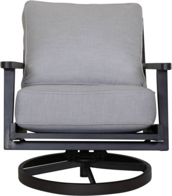Plank & Hide Adeline Swivel Lounge Chair