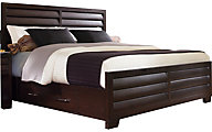 Pulaski Sable Queen Storage Bed