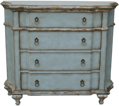 Pulaski French Blue Accent Chest