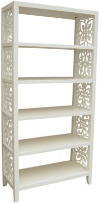 Pulaski Accents White Bookcase