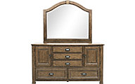 Pulaski Heartland Falls Dresser with Mirror