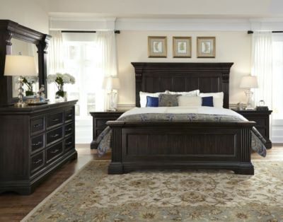 Pulaski Caldwell 4 Piece King Bedroom Set Homemakers Furniture