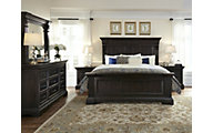 Pulaski Caldwell 4-Piece King Bedroom Set