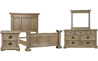 Pulaski Arrow 4-Piece King Bedroom Set
