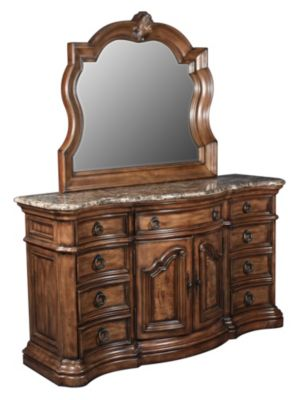 Pulaski San Mateo Dresser and Mirror