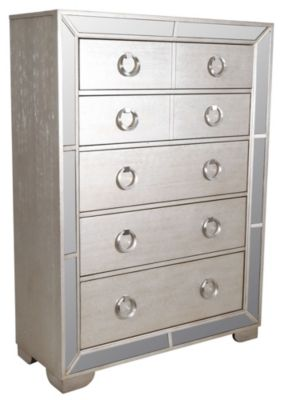 Pulaski Farrah Mirrored Chest