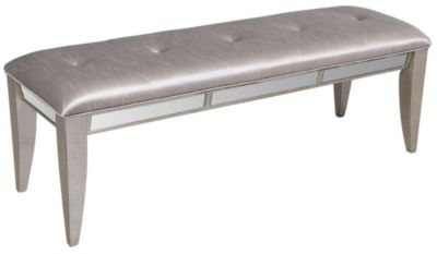 Pulaski Farrah Mirrored Bench