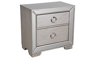 Pulaski Farrah Mirrored Nightstand