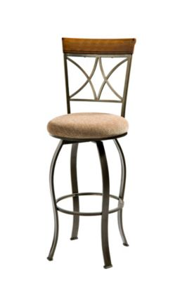 Powell Hamilton Swivel Bar Stool