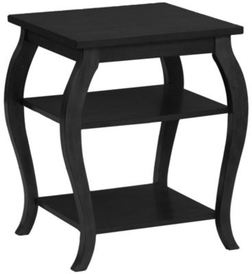 Powell Panorama Black Accent Table