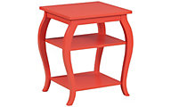 Powell Panorama Orange Accent Table
