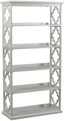 Powell Turner White Bookcase