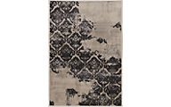 Powell Jewel Beige/Black 8' X 11' Rug