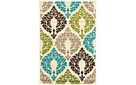 Powell Claremont Multi 5' X 7' Rug