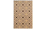 Powell Claremont Brown Geo 5' X 7' Rug