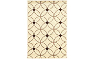 Powell Claremont Cream Geo 5' X 7' Rug