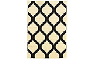 Powell Claremont Black/Cream Lantern 5' X 7' Rug