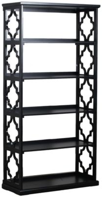 Powell Turner Balck Etagere Bookcase
