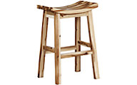 Powell Archer Saddle Bar Stool