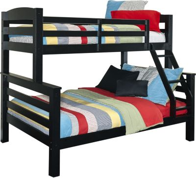 Powell Porter Black Twin/Full Bunk Bed