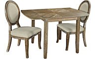 Powell Sara 3-Piece Dining Set