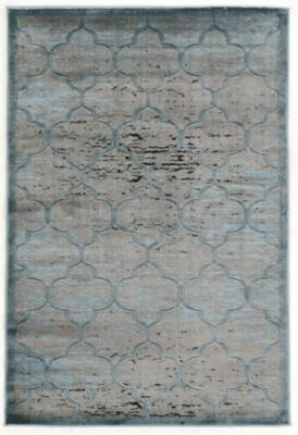 Powell Platinum 5' X 8' Rug