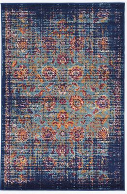Powell Shiraz 5' X 8' Multi-colored Rug