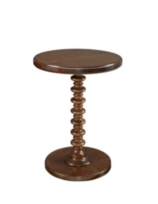 Powell Hazelnut Spindle Table