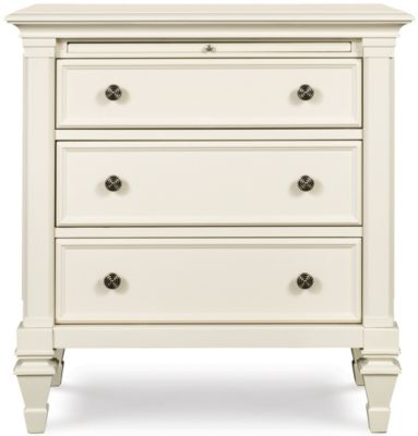 Magnussen Ashby White Nightstand