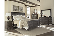 Magnussen Calistoga 4-Piece Queen Panel Bedroom Set