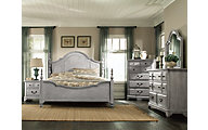 Magnussen Windsor Lane 4-Piece Queen Poster Bedroom Set