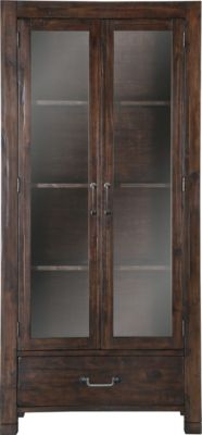Magnussen Pine Hill Transitional Curio Cabinet