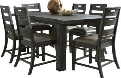 Superbe Magnussen Abington 7 Piece Transitional Dining Set