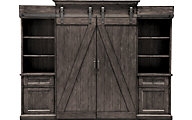 Magnussen Garrett Barn Door Entertainment Center