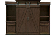 Magnussen Fraser Barn Door Entertainment Center