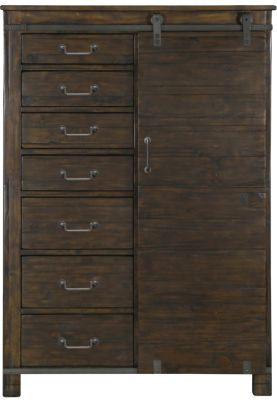 Magnussen Pine Hill Barn Door Chest