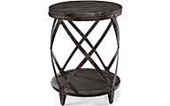 Magnussen Milford Round Accent Table