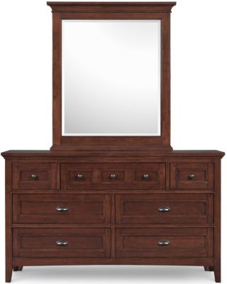 Magnussen Riley Kids' Dresser with Mirror