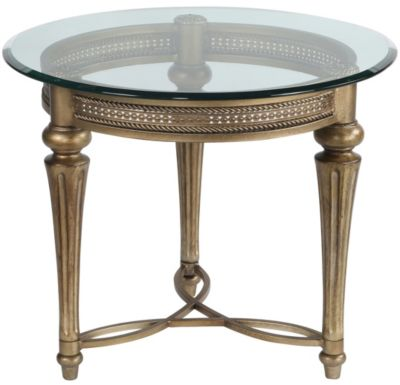 Magnussen Galloway Round End Table