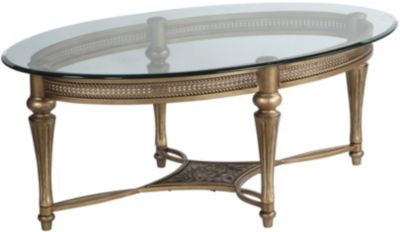 Magnussen Galloway Oval Coffee Table