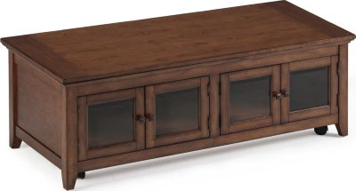 Magnussen Harborbay Glass Door Lift-Top Coffee Table