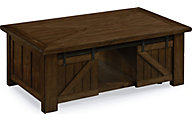 Magnussen Fraser Lift Top Barn Door Coffee Table