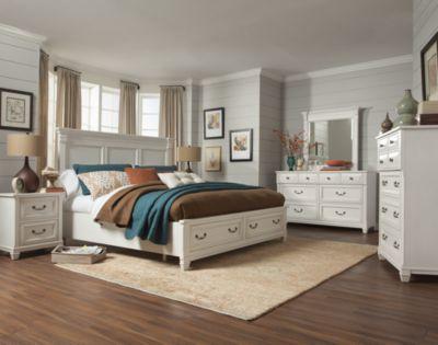 Merveilleux Magnussen Brookfield 4 Piece Queen Storage Bedroom Set
