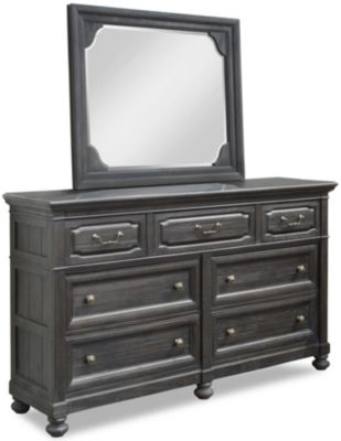 Magnussen Bedford Corners Dresser And Mirror