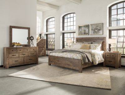 Magnussen Griffith 4-Piece King Bedroom Set