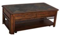 Magnussen Madison Rectangular Lift-Top Coffee Table